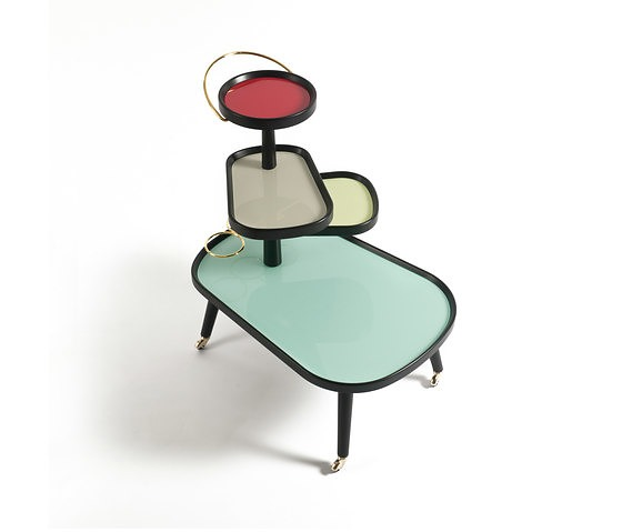 Lorenza Bozzoli Sushi Kart Table