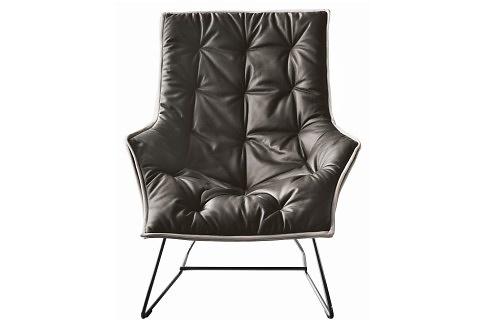 Ludovica and Roberto Palomba Maserati Lounge Chair
