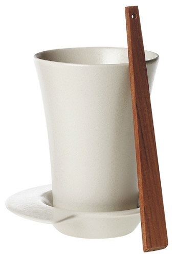 Marie-Louise Hellgren Spin Mug, Saucer & Stirrer
