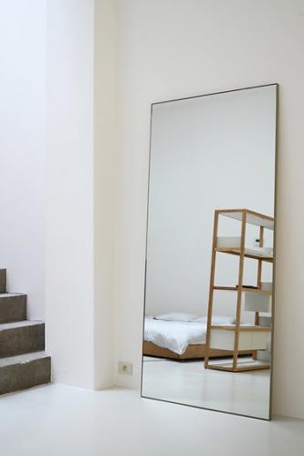 Marina Bautier Steel Frame Mirror
