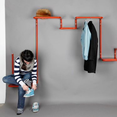 Mark Braun Floor95 Coat Rack