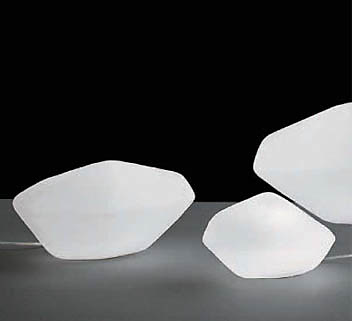 Marta Laudani and Marco Romanelli Stone Of Glass Lamp