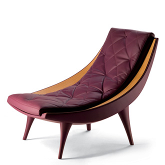 Massimiliano and Doriana Fuksas Carolina Lounge Chair
