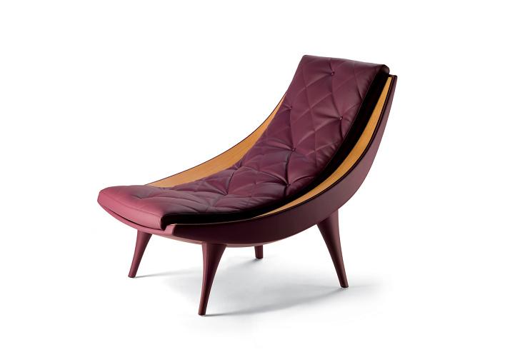 Massimiliano and Doriana Fuksas Carolina Lounge Chair