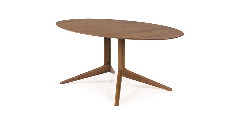 Matthew Hilton Light Oval Table