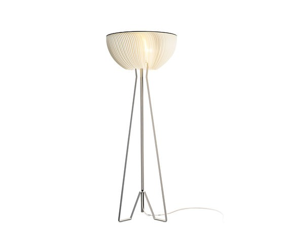 Michael Römer and Anja Eder Moonjelly Floor Lamp