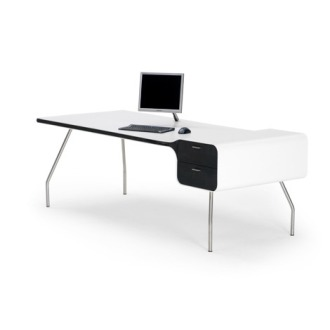 Michiel Van Der Kley I-Con Desk With Drawer