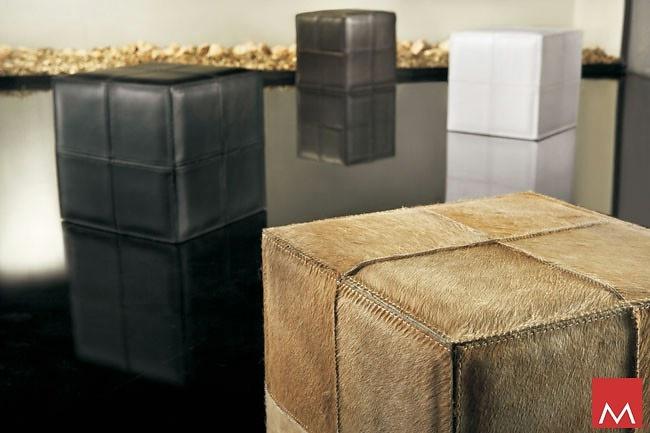 Modloft Dacre Cube Pouf