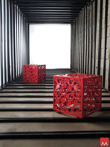 Modloft Foley Cube Bench