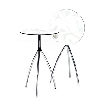 Molldesign and lars contzen stand up table - Table basse escamotable stand up ...