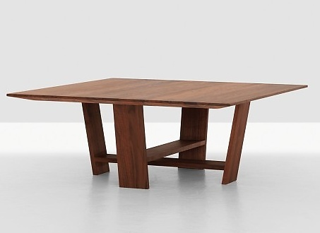 Nana Bambuch and Merit Frank Plank Couch Table