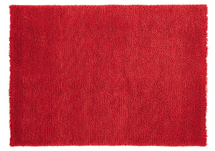 Red Velvet Rug Uniquely Modern Rugs