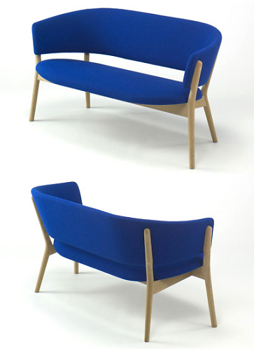 Nanna Ditzel ND-01 Easy Chair and ND-02 Sofa