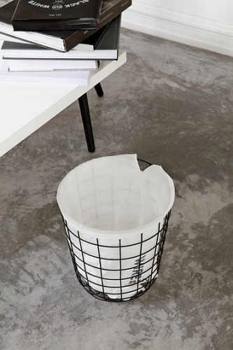 Norm Architects Wire Bin Paper Basket