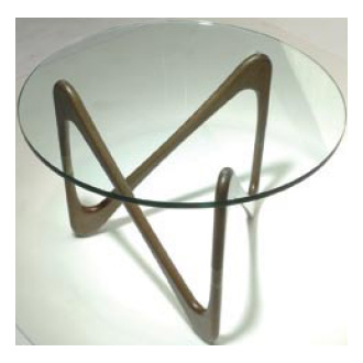 Objekto Moebius Table