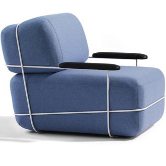 Osko and Deichmann Pebble Sofa