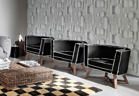 Paola Navone Gray 08 Armchair
