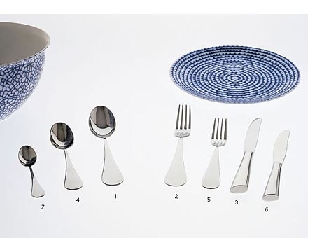 Paola Navone Paloma Cutlery