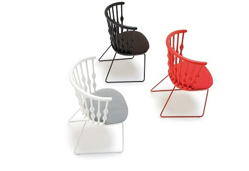 Patricia Urquiola Nub Chairs and Sofas