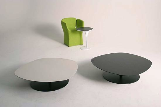 Patricia Urquiola Phoenix Sofa and Table