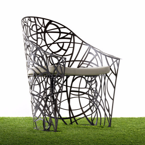 Patrizia Pozzi Radici Outdoor Seating Collection