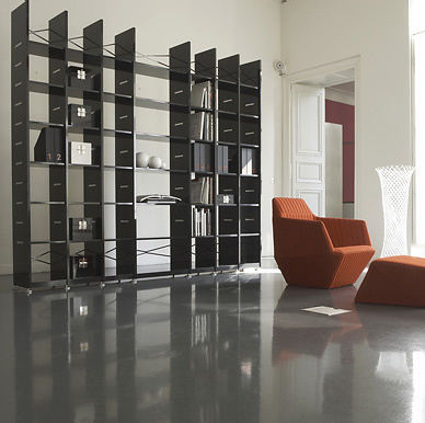 Peter maly brera shelving for Meuble cinna everywhere