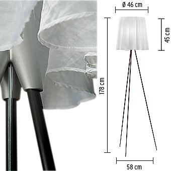 Philippe Starck Rosy Angelis Floor Lamp