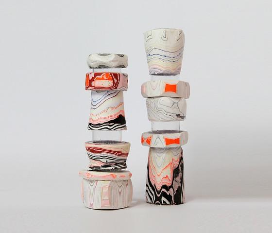 Pia Wüstenberg Processed Paper Vase