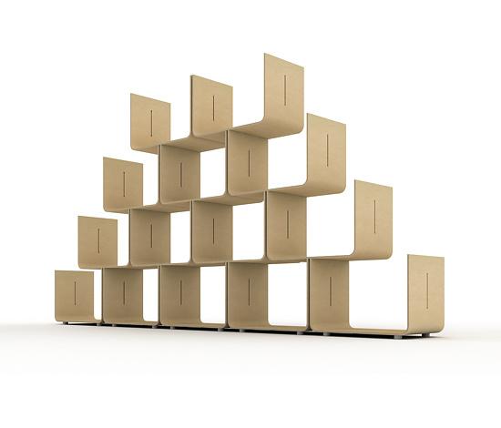 pierre paulin elysee shelving. Black Bedroom Furniture Sets. Home Design Ideas