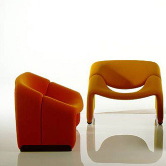 Pierre Paulin f-598 Armchair
