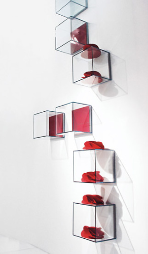 Pietro Arosio Glassbox Shelves