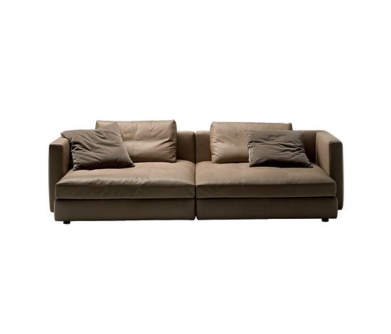 Poltrona frau massimosistema seating for Chaise longue frau