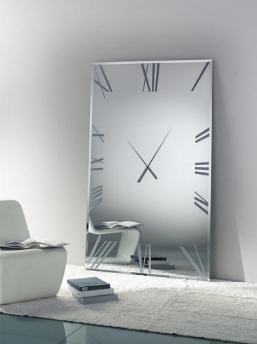Reflex Titanium Clock