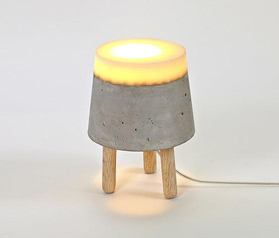Renate Vos Concrete Lamp
