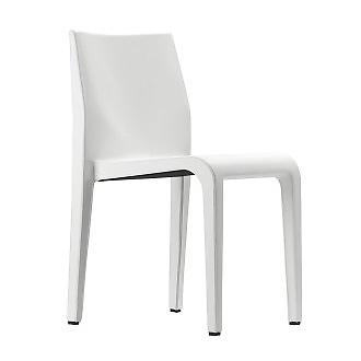 Riccardo Blumer Laleggera Leather Chair