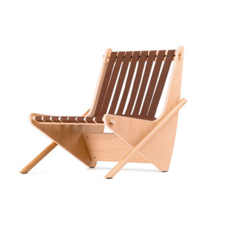 Richard Neutra Boomerang Armchair