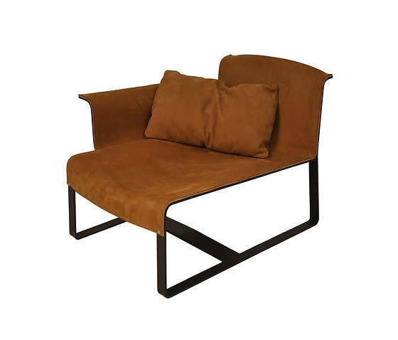 Richard Schipper Leather And Steel Seating Series