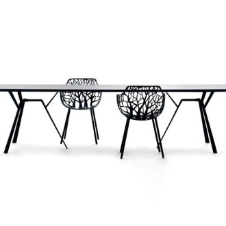 Robby and Francesca Cantarutti Robby e Radice Quadra Table