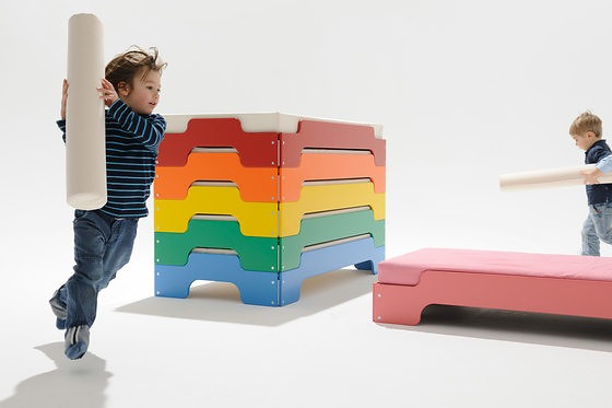 Rolf Heide Stacking Bed