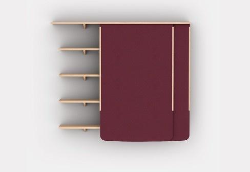 Ronan Bouroullec and Erwan Bouroullec Folio Shelves