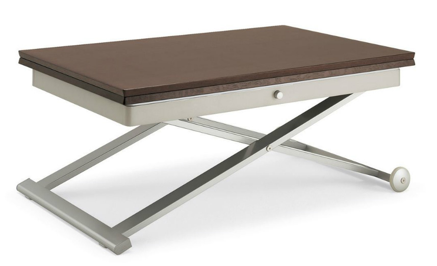 S t c flexy coffee table - Charniere table basse relevable ...