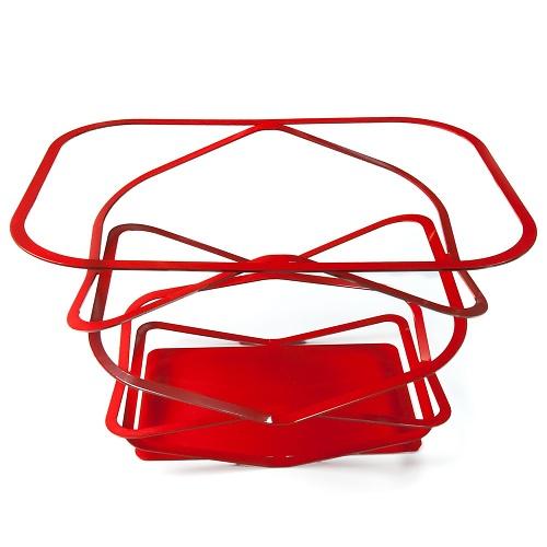 Jaime Salm and Brian Kelly Pop-up Basket