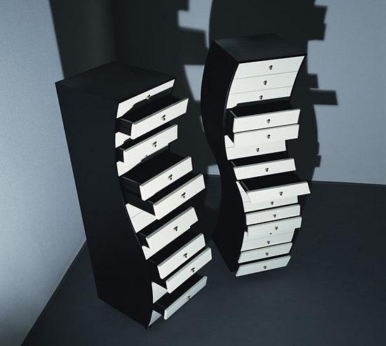 Shiro Kuramata Progetto Compiuti Shelving Collection