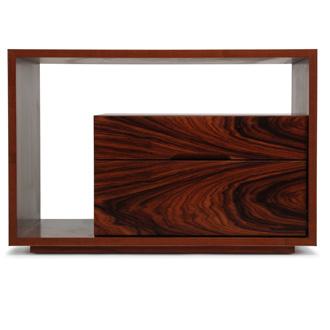 Skram Lineground 2-drawer Side Table - Nightstand No.1