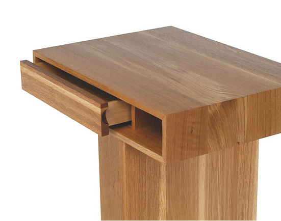 Skram Lineground 2-drawer Side Table - Nightstand No.3