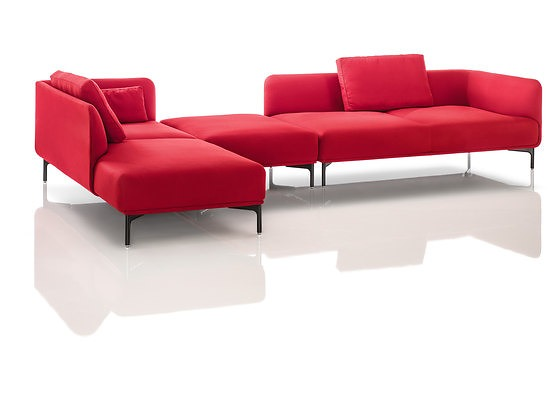 Soda Designers and Nasrallah & Horner Liv Modular Sofa With Table