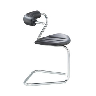 Stefan Wewerka B5 Single Tube Cantilever Chair