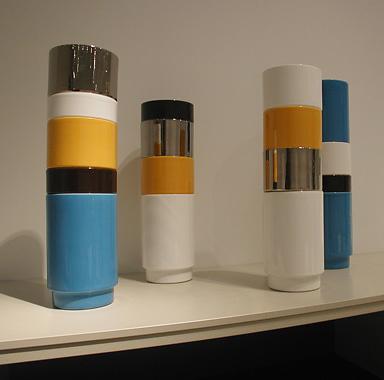 Stephanie Tharp and Bruce Tharp Stack Vase
