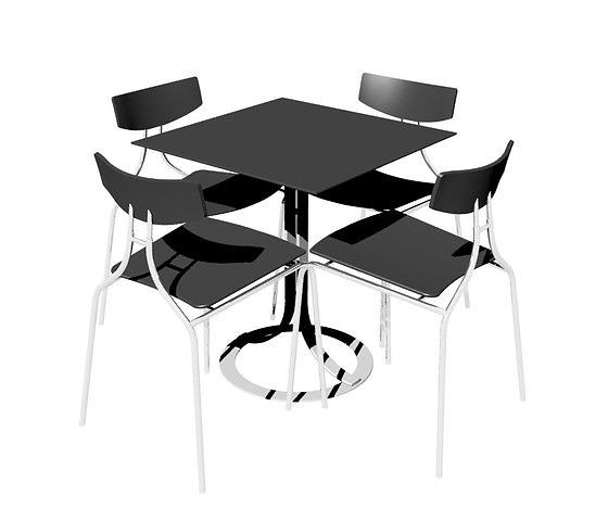 Susanne Grønlund Café Table