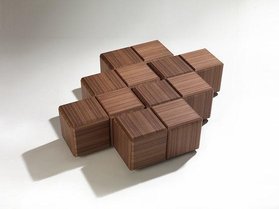 T. Colzani Block Coffee Table